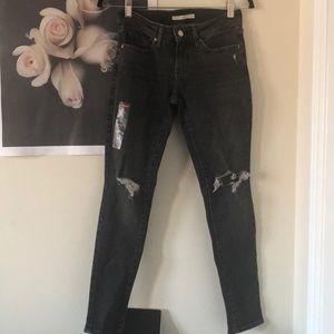LEVIS 711 NWOT skinny high rise jeans